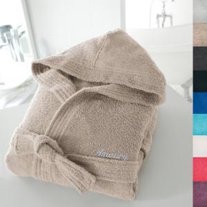Халат с капюшоном персонализированный 350 г/м² SCENARIO. Цвет: белый,голубой бирюзовый,гренадин,светло-серый,серо-бежевый,синий морской волны,темно-серый,фиолетовый,черный