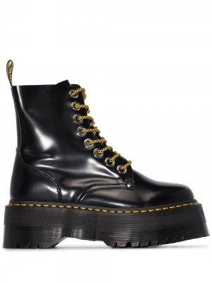 Ботинки Jadon на платформе Dr. Martens. Цвет: черный