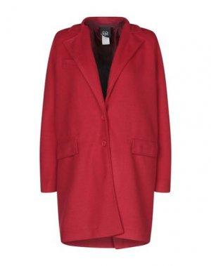 Пальто JIJIL. Цвет: красный
