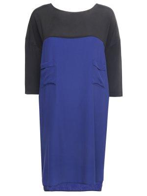 Платье-туника асимметричное Lorena Antoniazzi. Цвет: разноцветный