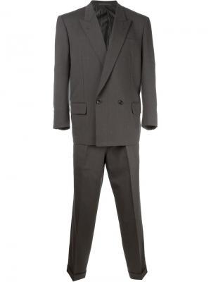Костюм с двубортным пиджаком Comme Des Garçons Vintage. Цвет: серый