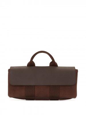 Сумка-тоут Valparaiso PM 2006-го года Hermès. Цвет: коричневый