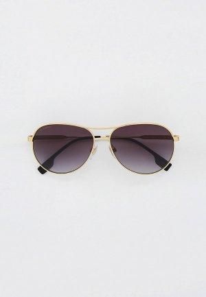 Очки солнцезащитные Burberry BE3122 11098G. Цвет: золотой