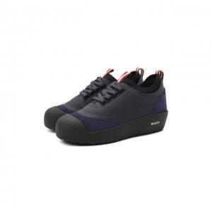 Кожаные ботинки Cublon Bally. Цвет: синий