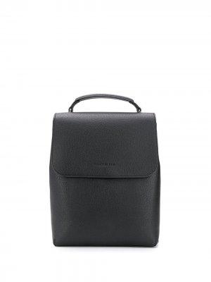 Рюкзак с тисненым логотипом Calvin Klein Jeans. Цвет: черный