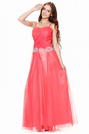 Платье Corleone Exclusive. Цвет: красный