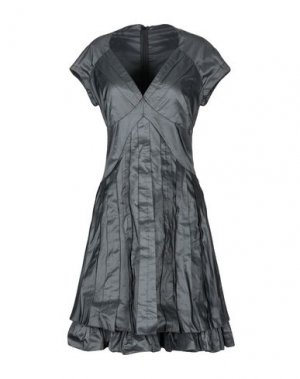Короткое платье X'S MILANO. Цвет: черный