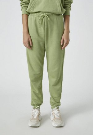 Брюки спортивные Pull&Bear. Цвет: зеленый
