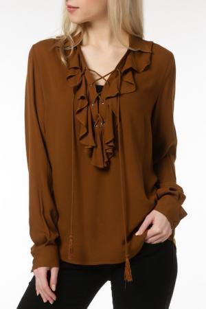 Блуза DEBY DEBO. Цвет: brown