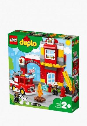 Конструктор LEGO DUPLO 10903 Пожарное депо. Цвет: разноцветный