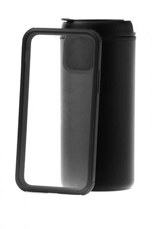 Чехол-накладка iP 11 Kruche. Цвет: black