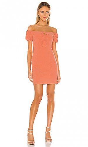 Мини платье BCBGeneration. Цвет: оранжевый
