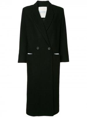 Single breasted coat Walk Of Shame. Цвет: черный