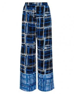 Повседневные брюки HOUSE OF HOLLAND. Цвет: ярко-синий