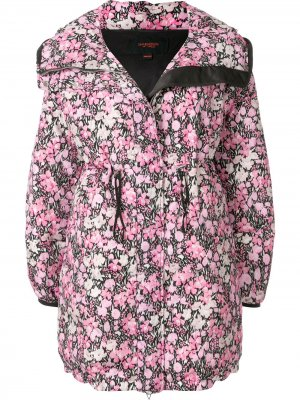 Парка с цветочным принтом Giambattista Valli. Цвет: розовый