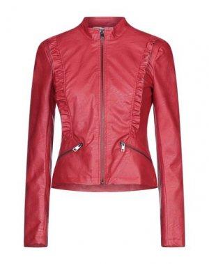 Куртка KAOS. Цвет: красный