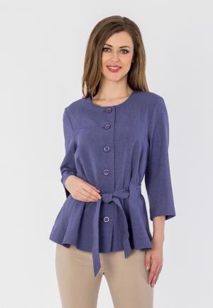 Жакет S&A Style. Цвет: фиолетовый