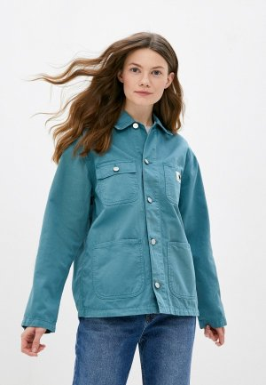 Куртка Carhartt WIP Michigan Coat. Цвет: бирюзовый