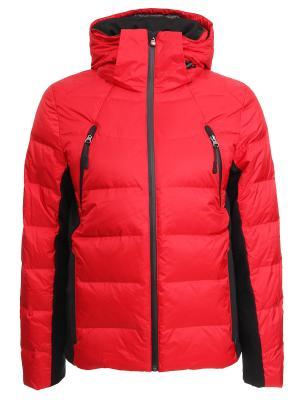 Спортивная пуховая куртка Canadiens. Цвет: красный