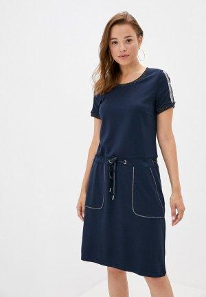 Платье Betty Barclay. Цвет: синий