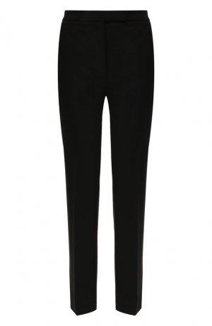 Шерстяные брюки Elie Saab. Цвет: чёрный