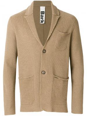 Пиджак прямого кроя Bark. Цвет: телесный
