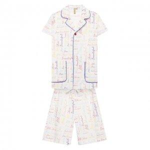 Пижама Mumofsix. Цвет: разноцветный