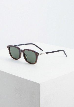 Очки солнцезащитные Christian Dior Homme TECHNICITY1F 086. Цвет: коричневый