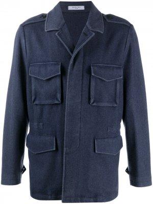 Легкая куртка Boglioli. Цвет: синий