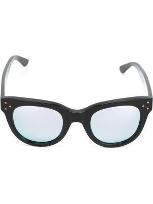 Солнцезащитные очки She Loves You Spektre. Цвет: чёрный