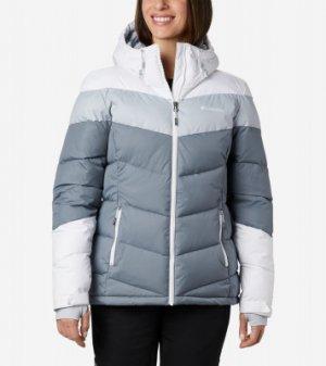 Куртка утепленная женская Abbott Peak™, размер 48 Columbia. Цвет: серый