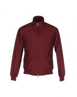 Куртка BARACUTA. Цвет: красно-коричневый