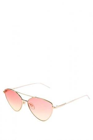 Очки Moschino Love. Цвет: золотистый