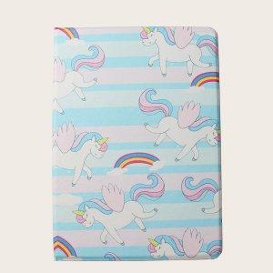 Чехол для iPad с принтом SHEIN. Цвет: многоцветный