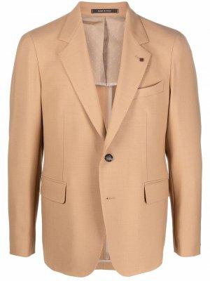 Однобортный пиджак Tagliatore. Цвет: нейтральные цвета