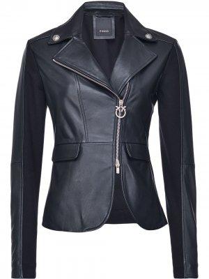 Приталенная куртка Pinko. Цвет: черный