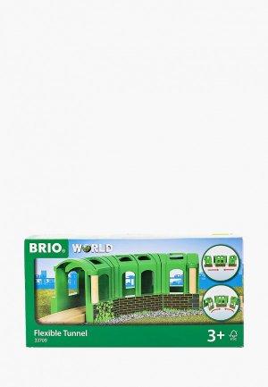 Конструктор Brio Тоннель-трансформер, 3 секции. Цвет: зеленый