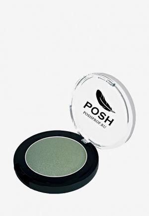 Тени для век Posh №6 Монохромные Мелкодисперсные высокопигментированные Влагостойкие Мохито 3,5гр. Цвет: зеленый
