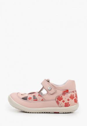 Туфли Kickers KIKI. Цвет: розовый