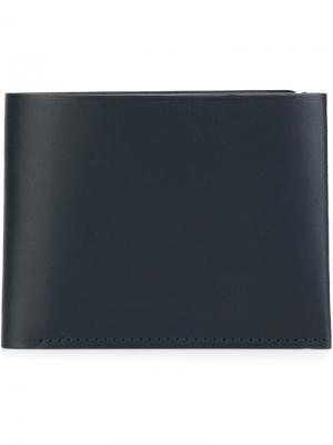 Бумажник B Isaac Reina. Цвет: синий