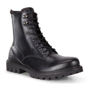 Ботинки высокие TREDTRAY ECCO. Цвет: черный