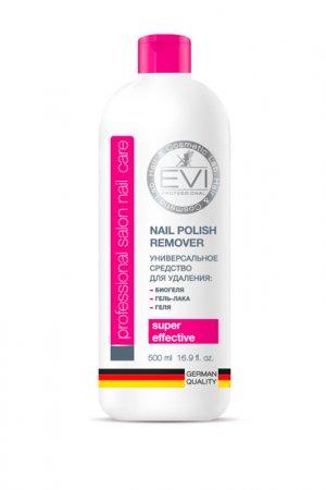 Средство для снятия биогеля EVI professional. Цвет: белый