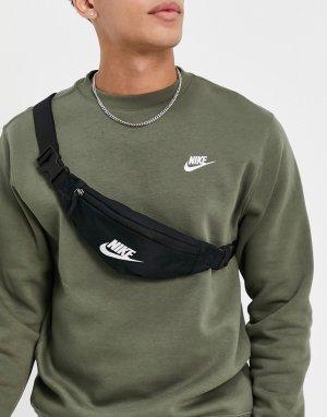 Черная сумка-кошелек на пояс Heritage-Черный цвет Nike