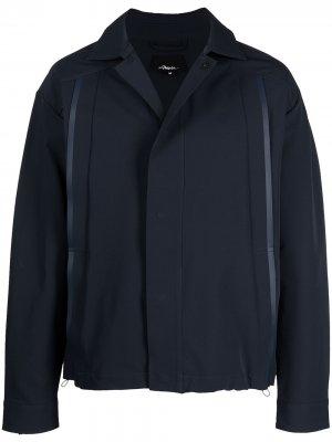 Куртка-рубашка Coach 3.1 Phillip Lim. Цвет: синий