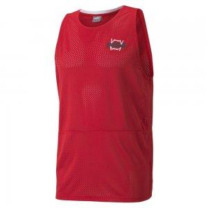 Майка Dont Sweat It Mens Basketball Tank PUMA. Цвет: красный
