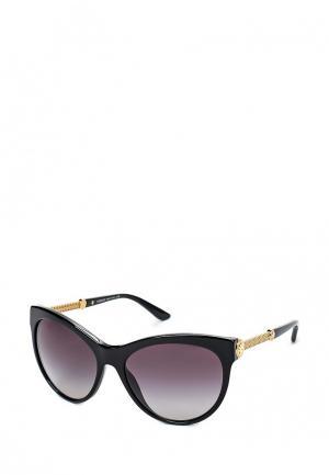 Очки солнцезащитные Versace VE4292 GB1/8G. Цвет: черный