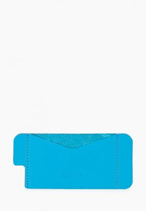 Чехол для iPhone Zavtra 5/5S. Цвет: голубой