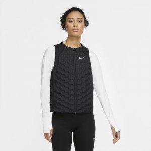 Женский беговой жилет AeroLoft - Черный Nike