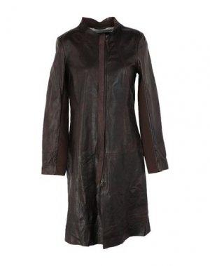 Легкое пальто FREAKY NATION. Цвет: какао