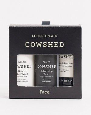 Дорожный набор средств по уходу за кожей лица Little Face Treats-Бесцветный Cowshed
